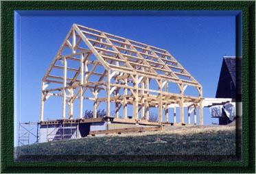 Ontario Timber Frame Home Construction By Northern